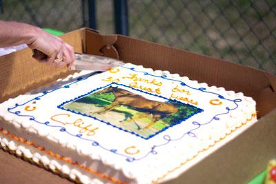 Cliff's carrot cake