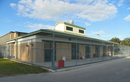 UF equine and large animal hospital isolation facilities